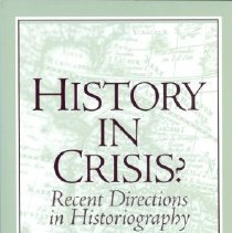 Image of Book - History in Crisis?