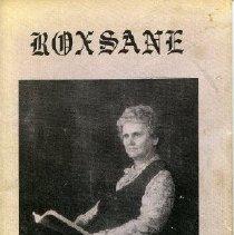 Image of Booklet - Roxsane In Rhyme