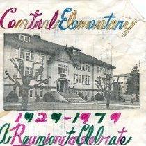 Image of Program - Central Elementary School 50 Year Reunion Program
