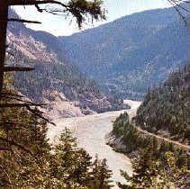 Image of Postcard - View of the Fraser River