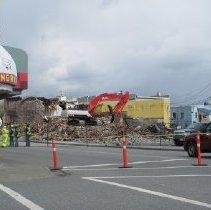 Image of Series - Irwin Block Demolition Digital Photograph Series