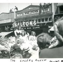 Image of Print, Photographic - Wellington Avenue During Cherry Carnival Parade