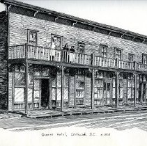 Image of Print - Queens Hotel Chilliwack BC