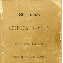 Image of Booklet - Dictionary of the Chinook Jargon