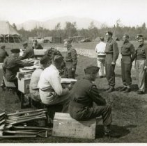 Image of Print, Photographic - Camp Chilliwack 1942