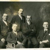 Image of Print, Photographic - Group portrait of Unidentified Men