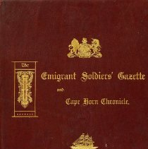 Image of Book - Imigrant Soldiers' Gazette and Cape Horn Chronicle