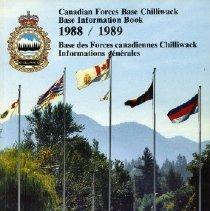 Image of Booklet - Canadian Forces Base Chilliwack Base Information Book