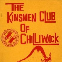 Image of Folder - Kinsmen Club of Chilliwack 50th Anniversary Booklets
