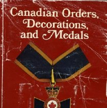 Image of Book - Canadian Orders, Decoration and Medals