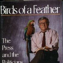 Image of Book - Birds of a feather: the press and the politicians