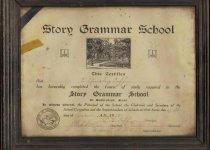 Image of 2000-026-051 - Certificate, Achievement