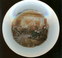 Image of 2008-005-00006 - Plate, Dessert