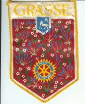 Image of Rotary Flag of Grasse