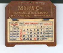 Image of 2008-300-02048 - Calendar