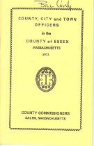 Image of Essex County Officers - 1973