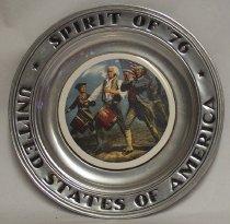 Image of 2010-033-00147 - Plate, Commemorative