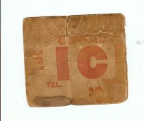 Image of 2013-043-00453 - Card, Identification