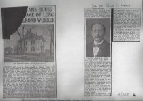 Image of Newspaper Clippings (Adams)
