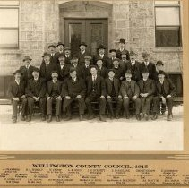 Image of A1989.11 - Wellington County Council, 1915