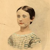 Image of A1997.114 - Portrait of Frances Elizabeth Shanly as a child, Toronto, Ontario, ca. 1870.