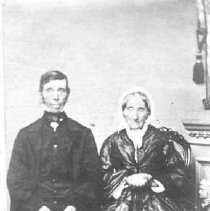 Image of A1977.110.1 - Mr. and Mrs. Dalmage of Rockwood ?, ca. 1875