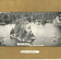 Image of A1977.42.4 - Postcard of Speed River, Rockwood, Ont.,  addressed to Robert Wallis, ca. 1908.