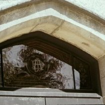 Image of 5838 monogrammed glass 1977