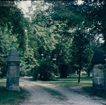 Image of 5872 gate posts 1967