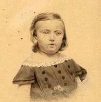 Image of A1997.114 - Portrait of a Shanly family child, Toronto, Ontario, ca. 1870.
