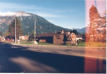 Image of PO.015.0624 - Snoqualmie Valley Historical Museum. 1988.  Front of Museum at 320 S Bendigo St, North Bend. Color Image.
