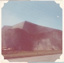 Image of PO.015.1001 - Snoqualmie High School building being torn down.