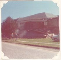 Image of PO.015.1002 - Snoqualmie High School building being torn down.