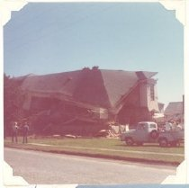 Image of PO.015.1003 - Snoqualmie High School building being torn down.