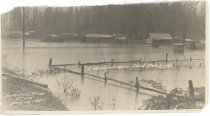 Image of PO.159.0008 - Snoqualmie River Flood. Tent town where Japanese lived.  