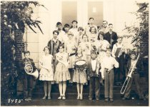 Image of PO.179.0020 - Fall City Grade School Band.