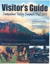 Image of 951.406 - Snoqualmie Valley Visitor's Guide, Summer/Fall 2013.