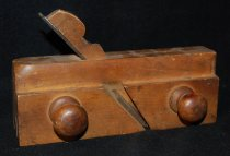 Image of 009.001 - Plane owned by William Whipple, great grandfather of George Whipple of North Bend. Tools used in his wagon maker trade.
