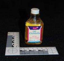 Image of 951.645 - Citronella Oil Rexall Drugs bottle.