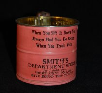 Image of 039.109 - Smith's Department Store sifter, North Bend.