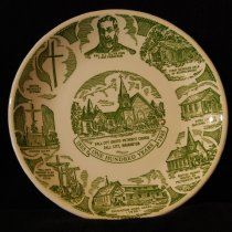 Image of 040.1334 - Fall City Methodist Church plate. 1985.
