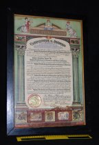 Image of 814.050. United Brotherhood Union Ladies Auxiliary Charter, 1936 (2)