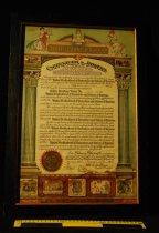 Image of 814.050. United Brotherhood Union Ladies Auxiliary Charter, 1936 (3)