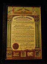 Image of 814.050. United Brotherhood Union Ladies Auxiliary Charter, 1936 (4)