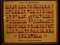 Image of 040.3321 - Washington House of Representatives, 1973 . Included is Francis North of North Bend.