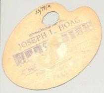 Image of 033.079.a. J L Hoag Photographer Ad Card.0002