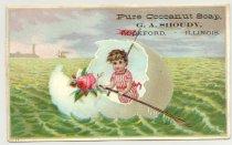 Image of 033.081.e. Pure Conoanut Soap. Ga Shoudy Ad Card.0001