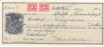 Image of 1031.001 - Promissory note between Claude Northern and Grandin-Coast Lumber Company, April 2, 1918.