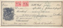 Image of 1031.002 - Promissory Note between Claude Northern and Grandin-Coast Lumber Co, April 2, 1918.