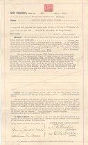 Image of 1031.004 - Property deed between Grandin-Coast Lumber Co and Claude Northern in Snoqualmie, July 8, 1919.